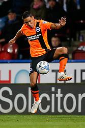 Adam Chicksen of Brighton in action - Photo mandatory by-line: Rogan Thomson/JMP - 07966 386802 - 21/10/2014 - SPORT - FOOTBALL - Huddersfield, England - The John Smith's Stadium - Huddersfield Town v Brighton & Hove Albion - Sky Bet Championship.