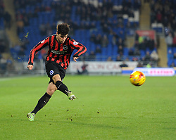 Brighton and Hove Albion's Joao Teixeira in action during the Sky Bet Championship match between Cardiff City and Brighton & Hove Albion at Cardiff City Stadium on 10 February 2015 in Cardiff, Wales - Photo mandatory by-line: Paul Knight/JMP - Mobile: 07966 386802 - 10/02/2015 - SPORT - Football - Cardiff - Cardiff City Stadium - Cardiff City v Brighton & Hove Albion - Sky Bet Championship