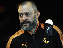 Wolverhampton Wanderers manager Nuno arrives at the Liberty Stadium - Mandatory by-line: Nizaam Jones/JMP- 17/01/2018 - FOOTBALL - Liberty Stadium- Swansea, Wales - Swansea City v Wolverhampton Wanderers - Emirates FA Cup third round proper