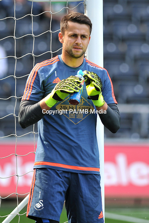 Swansea City goalkeeper Lukasz Fabianski