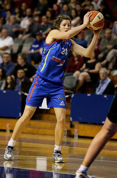 5/10/2013 WNBL Adelaide Lightning vs West Coast Waves at Adelaide Arena.