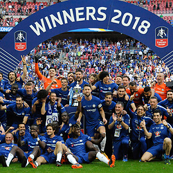 19,05,2018 Emirates FA Cup Final match between Chelsea and Manchester United