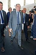 2013/07/11 Roma, assemblea annuale dell'Associazione Nazionale Costruttori Edili. Nella foto Giorgio Squinzi.<br /> Rome, Builders National Association annual meeting. In the picture Giorgio Squinzi - &copy; PIERPAOLO SCAVUZZO