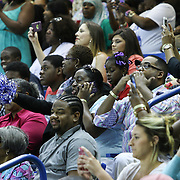 Family and friends comprised of 186 students attend Howard High School of Technology 146th commencement exercises Thursday, June 04, 2015, at The Bob Carpenter Sports Convocation Center in Newark, Delaware.