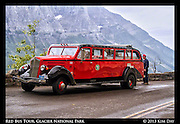 Red Bus Tour<br /> Glacier National Park<br /> September 2012