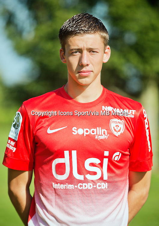 Clement LENGLET - 03.10.2013 - Photo Officielle - Nancy -<br /> Photo : Icon Sport