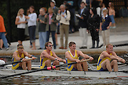 Boston, USA, Men's Coxed Four [M4+]  Racing during the Head of the Charles, Race Charles River,  Cambridge,  Massachusetts. Saturday  20/10/2007  [Mandatory Credit Peter Spurrier/Intersport Images]..... , Rowing Course; Charles River. Boston. USA