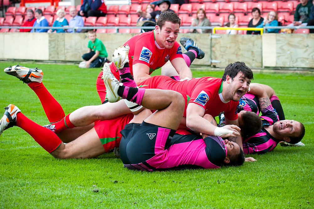 Sports Photography of the Crusaders vs. Oldham Rugby Match by Sport and PR Photographer Ioan Said