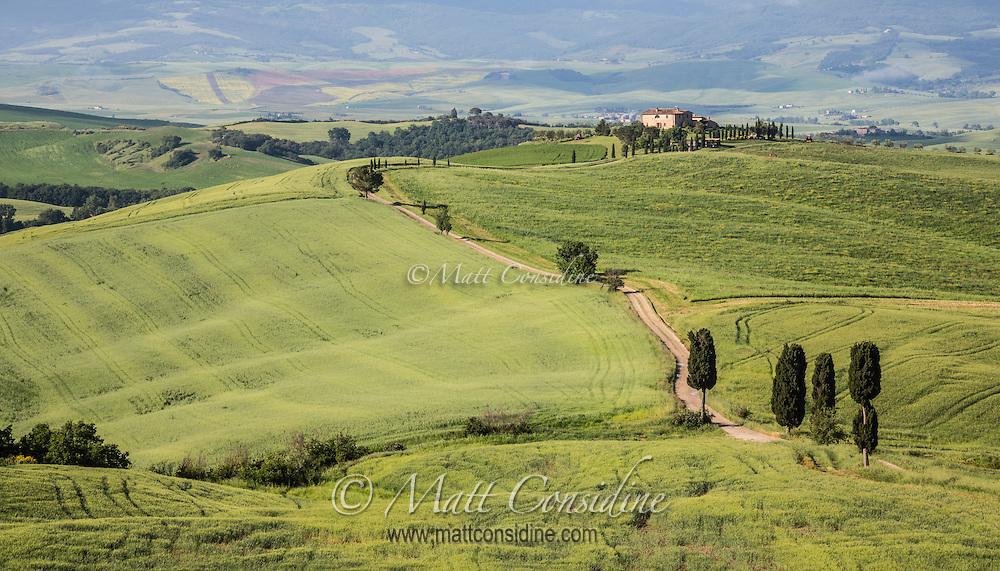 This is the road seen in movie Gladiator where Maximus Decimus Meridius (Russell Crowe) returns to home. (Photo by Travel Photographer Matt Considine)