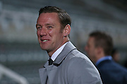 Sky pundit and ex Newcastle United player Kevin Nolan during the EFL Sky Bet Championship match between Newcastle United and Aston Villa at St. James's Park, Newcastle, England on 20 February 2017. Photo by Simon Davies.