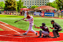 20 May 2019:  Jack Butler, Aiden McMahan and Greg Harmon. Missouri Valley Conference Baseball Tournament - Southern Illinois Salukis v Illinois State Redbirds at Duffy Bass Field in Normal IL<br /> <br /> #MVCSPORTS