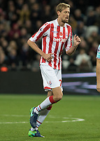 Football - 2016 / 2017 Premier League - West Ham United vs. Stoke City<br /> <br /> Peter Crouch of Stoke City at The London Stadium.<br /> <br /> COLORSPORT/DANIEL BEARHAM