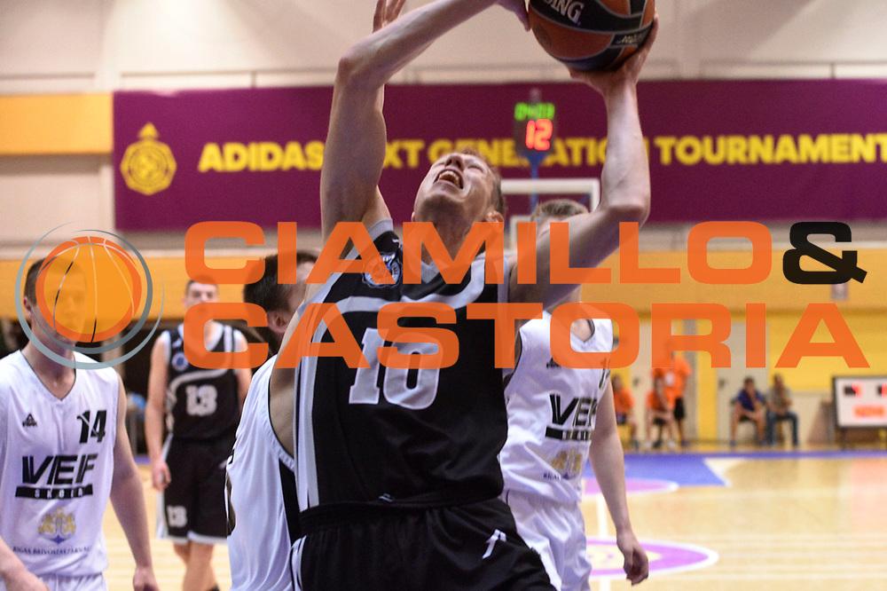 DESCRIZIONE : Madrid Adidas Next Generation Tournament Stella Azzurra Roma VEF Riga<br /> GIOCATORE : Andrea La Torre<br /> SQUADRA : Stella Azzurra Roma<br /> CATEGORIA : tiro<br /> EVENTO : Madrid Adidas Next Generation Tournament<br /> GARA : Stella Azzurra Roma - VEF Riga<br /> DATA : 15/05/2015<br /> SPORT : Pallacanestro<br /> AUTORE : Agenzia Ciamillo-Castoria/GiulioCiamillo<br /> Galleria : Eurolega 2014-2015<br /> DESCRIZIONE : Madrid Adidas Next Generation Tournament Stella Azzurra Roma VEF Riga