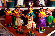 Hula dolls, Hawaii<br />
