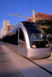 Downtown Houston metro light rail