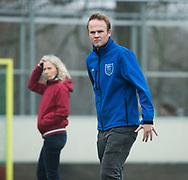 Den Haag - Hoofdklasse hockey dames, HDM-GRONINGEN  (6-2). Roderick Juffermans, (assistent trainer HDM)  COPYRIGHT KOEN SUYK