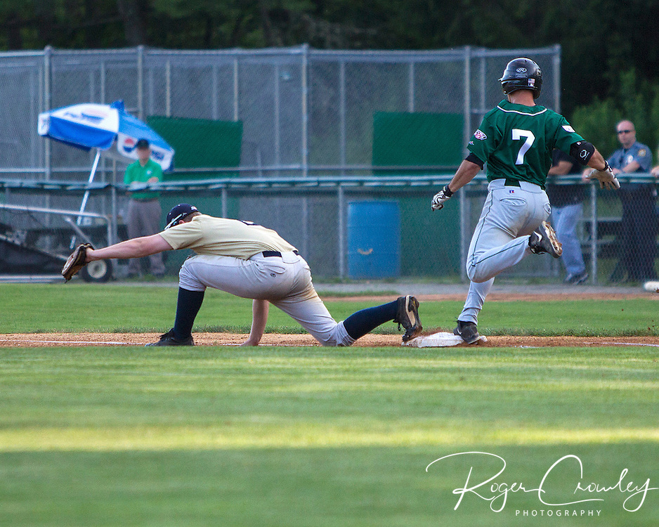 The Vermont Mountaineers defeated the Saratoga Brigade 11-2 Recreation Field in Montpelier.