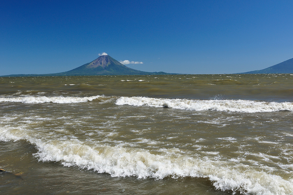 View to Volcan Conception,Ometepe Island,Lago Nicaragua, Nicaragua,Central America