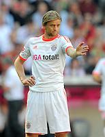 FUSSBALL   1. BUNDESLIGA  SAISON 2011/2012   33. Spieltag FC Bayern Muenchen - VfB Stuttgart       28.04.2012 Anatoliy Tymoshchuk  (FC Bayern Muenchen)