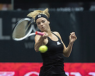Camila Giorgi (ITA) on Day Three of the WTA Generali Ladies Linz Open at TipsArena, Linz<br /> Picture by EXPA Pictures/Focus Images Ltd 07814482222<br /> 12/10/2016<br /> *** UK & IRELAND ONLY ***<br /> <br /> EXPA-REI-161012-5009.jpg