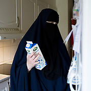 Arhus, Denmark, May 8, 2010. Aisha, 42, danish, converted to Islam 22 years ago.