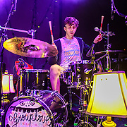 "WASHINGTON, DC - October 10th, 2013 - Ryan Rabin of Grouplove performs at The Hamilton in Washington, D.C. The band's 2011 hit ""Tongue Tied"" sold over 1 million copies, was featured in an iPod Touch commercial and was covered on the TV show Glee. (Photo by Kyle Gustafson / For The Washington Post)"
