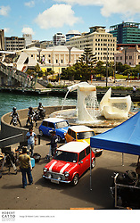 Directors Abbas and Mustan Burmawalla brought their production 'Players' to Wellington's waterfront for a shoot in January 2011.  Stars of the film include Abhishek Bachchan, Bobby Deol, Sonam Kapoor, Bipasha Basu.  The story is a remake of the classic Italian Job, set and filmed in India, New Zealand and Russia, and will be released later in the year.