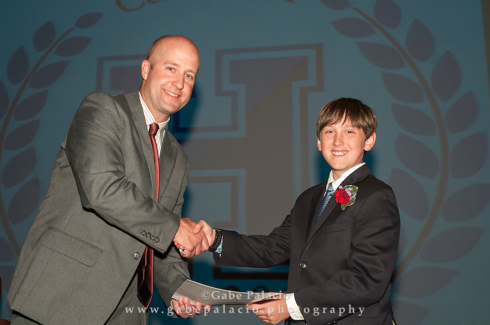 The Harvey School Middle School Prize Night at the Walker Center for the Arts at the Harvey School on June 3, 2015. (photo by Gabe Palacio)
