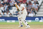 Ben Stokes of England chops one down to third man during the 3rd International Test Match 2018 match between England and India at Trent Bridge, West Bridgford, United Kingdon on 21 August 2018.