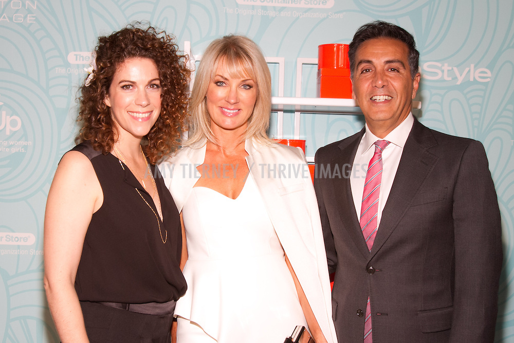Jenni Luke, CEO, Step Up, Anita Jansens-Malka and Ben Malka, CEO, Halston