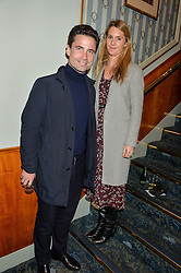 LEO FENWICK and LADY KINVARA BALFOUR at the opening night of People, Places & Things at The Wyndham's Theatre, Charing Cross Road, London on 23rd March 2016,