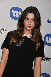 SAI BENNETT at the Warner Music Group Post Brit Awards Party in Association with Samsung held at The Savoy, London on 20th February 2013.