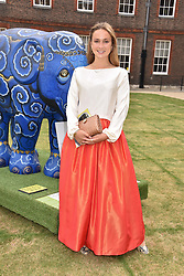 Lady Marina Windsor at the Concours d'éléphant in aid of Elephant Family held at the Royal Hospital Chelsea, London, England. 28 June 2018.
