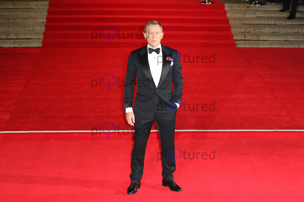 Daniel Craig, Bond: Spectre - World Premiere & Royal Film Performance, Royal Albert Hall, London UK, 26 October 2015, Photo by Richard Goldschmidt