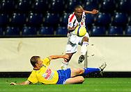 05-09-2008 Voetbal:KVC Westerlo:Willem II: Westerlo<br /> Ibad Muhamadu was weer gevaarlijk<br /> Foto: Geert van Erven