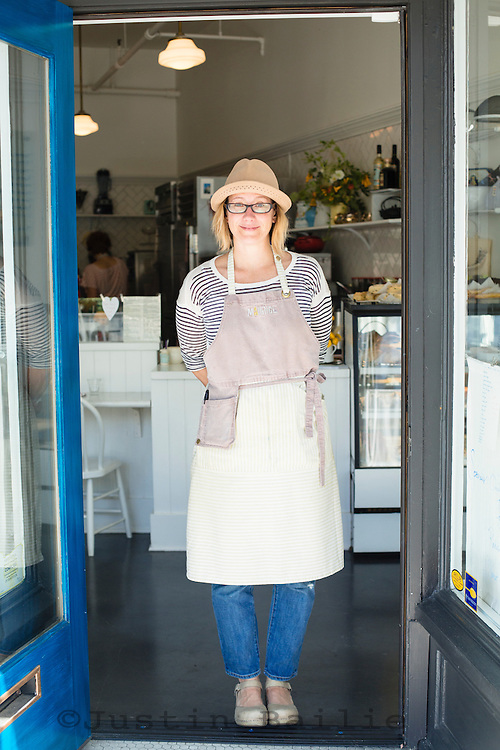 Maurice (Pastry Luncheonette) and owner Kristen Murray. Portland, Oregon