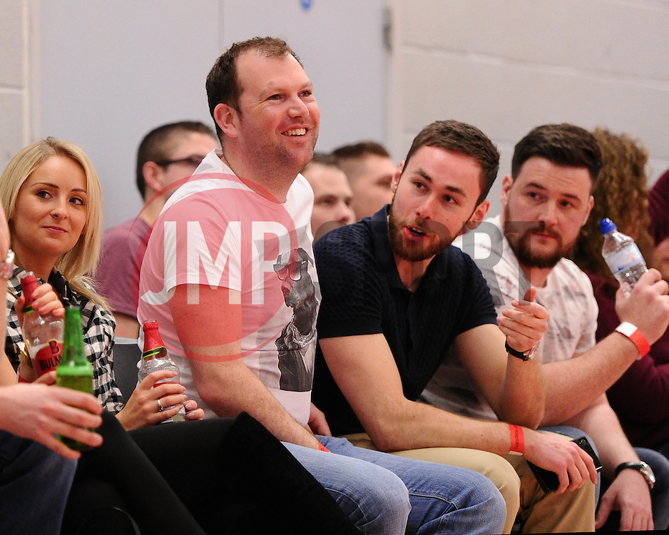 - Photo mandatory by-line: Joe Meredith/JMP - Mobile: 07966 386802 - 11/04/2015 - SPORT - Basketball - Bristol - SGS Wise Campus - Bristol Flyers v Glasgow Rocks - British Basketball League