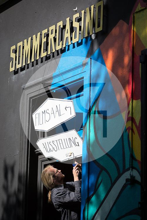 SCHWEIZ - BASEL - Vorbereitung des science+fiction: Machina Sapiens - 05. Mai 2017 © Raphael Hünerfauth - http://huenerfauth.ch