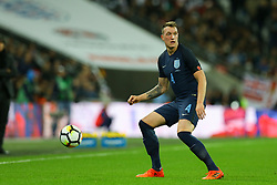 Phil Jones of England in action - Mandatory by-line: Jason Brown/JMP - 10/11/2017 - FOOTBALL - Wembley Stadium - London, England - England v Germany - International Friendly