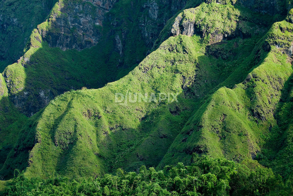 "Green eroded volcanoes near Bajawa, Flores, Indonesia, recall Middle Earth. It's little surprise that ""hobbits"" (a.k.a., Homo floresiensis) hailed from here."