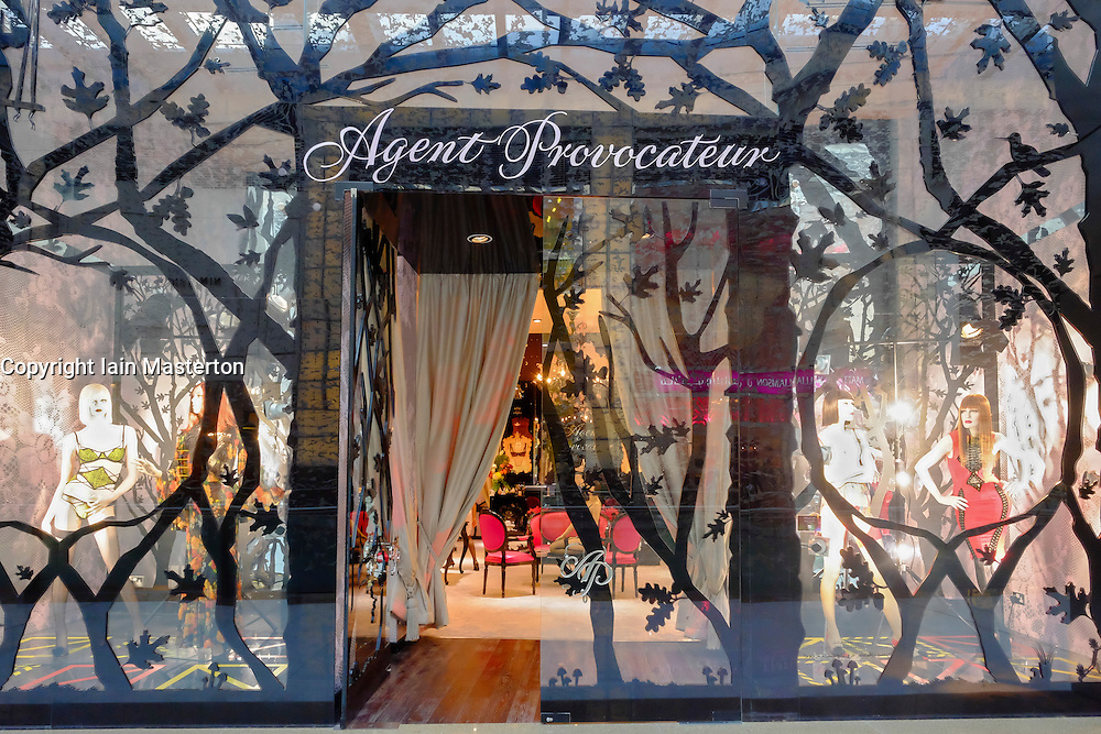 Agent Provocateur store in  Dubai Mall in Dubai United Arab emirates