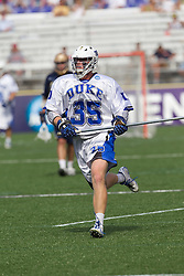 31 May 2010: Duke Blue Devils defenseman Parker McKee (35) in a 5-6 win over the Notre Dame Fighting Irish for the NCAA Lacrosse Championship at M&T Bank Stadium in Baltimore, MD.