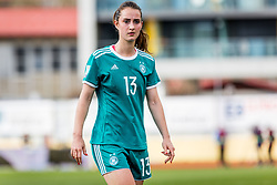 Sara Dabritz of Germany during football match between Slovenia and Germany in Womans Qualifications for World Championship 2019, on April 10, 2018 in Sports park Domzale, Domzale, Slovenia. Photo by Ziga Zupan / Sportida