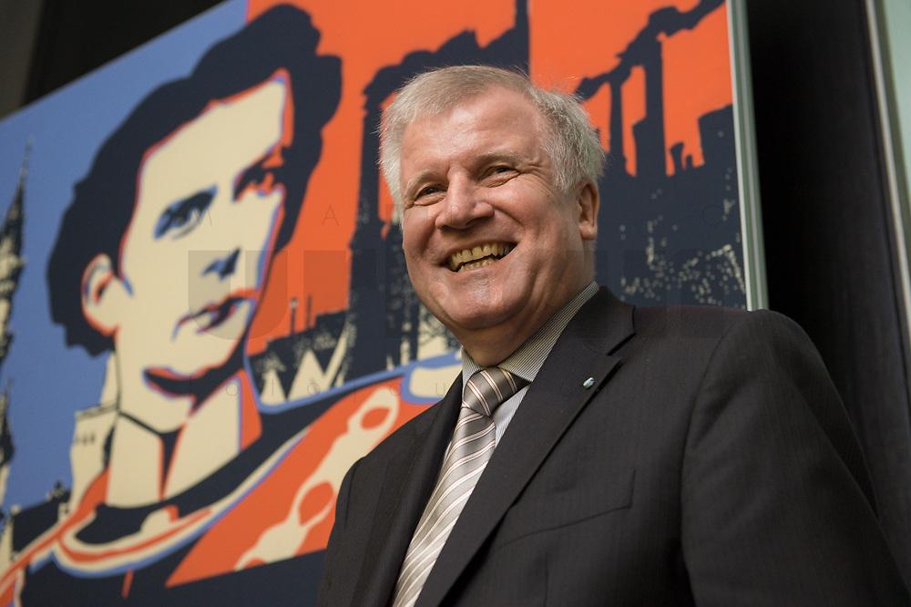 """11 MAY 2012, BERLIN/GERMANY:<br /> Horst Seehofer, CSU, Ministerpraeisdent Bayern, eroeffnet die Ausstellung """"Goetterdaemmerung - Koenig Ludwig II. und seine Zeit"""", Bundesrat<br /> IMAGE: 20120511-02-015"""
