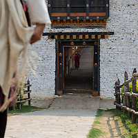 Entry to Punakha Dzong & Bridge, Punakha, Bhutan