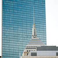 John Hancock Tower, old and new