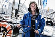 20-05-2018: Zeilen: The North Sea Regatta: Scheveningen<br /> <br /> (L-R) Zeiler Gerwin Bruynooge na afloop van de North Sea Regatta in de haven van Scheveningen<br /> <br /> Foto: Gertjan Kooij