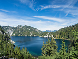 United States, Washington, Snow Lake