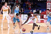 Sobin Josip Barford Jaylen<br /> Carpegna Prosciutto Basket Pesaro - Vanoli Cremona<br /> Lega Basket Serie A 2019/2020<br /> Pesaro, 01/12/2019<br /> Foto A.Giberti / Ciamillo - Castoria