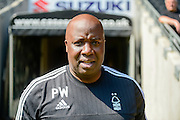 Nottingham Forest manager Paul Williams during the Sky Bet Championship match between Milton Keynes Dons and Nottingham Forest at stadium:mk, Milton Keynes, England on 7 May 2016. Photo by Dennis Goodwin.